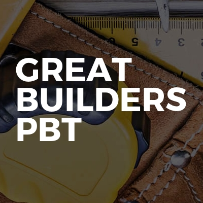 GREAT BUILDERS PBT