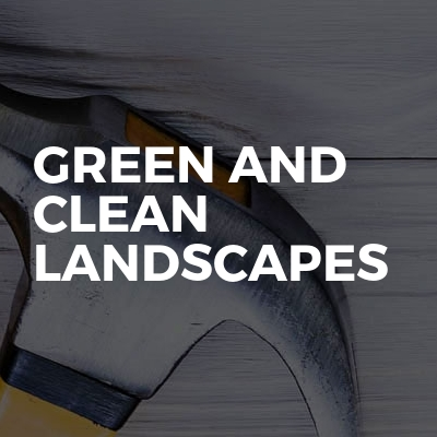 Green and Clean Landscapes