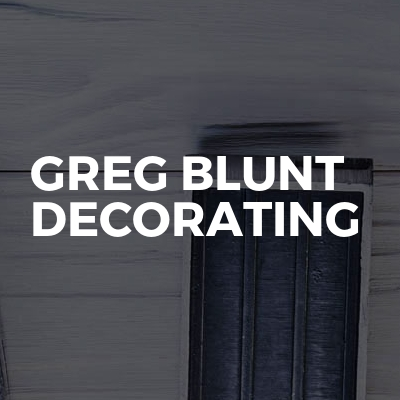 Greg Blunt Decorating