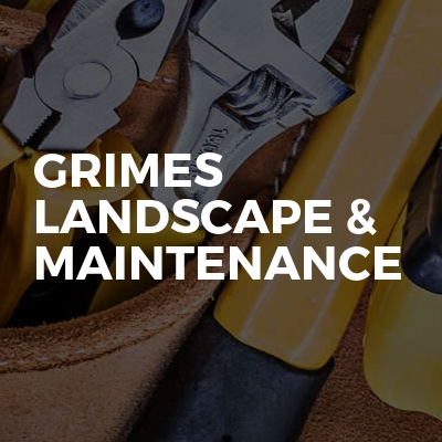 Grimes Landscape & Maintenance