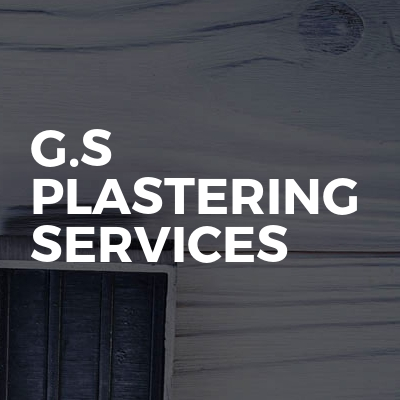 G.S plastering services