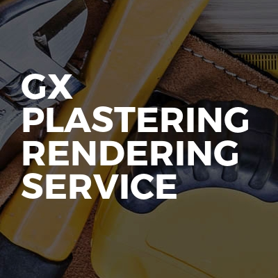 Gx Plastering Rendering Service