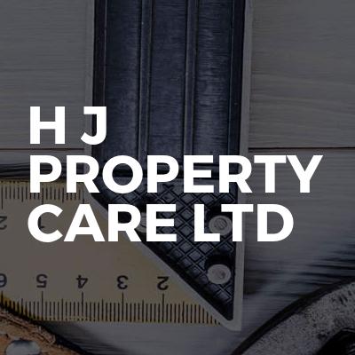 H J Property Care Ltd