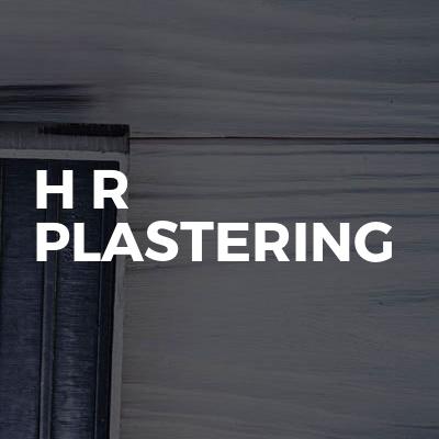 H R Plastering
