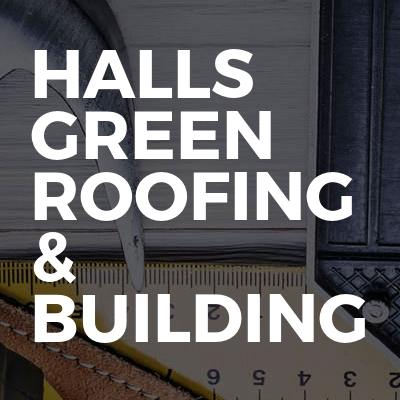 Halls green roofing & building