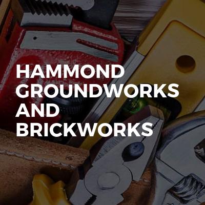 Hammond groundworks and brickworks