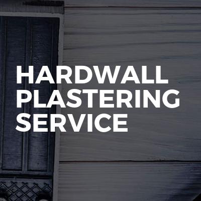 Hardwall Plastering Service