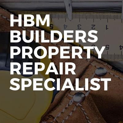 Hbm Builders Property Repair Specialist