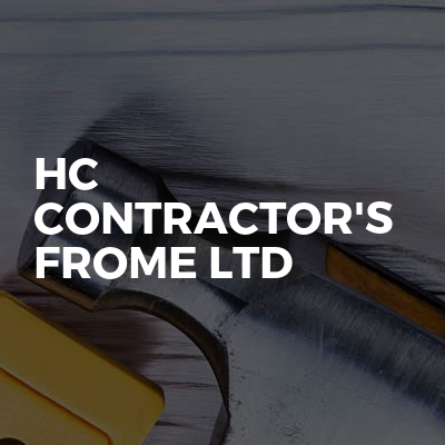 Hc Contractor's Frome Ltd