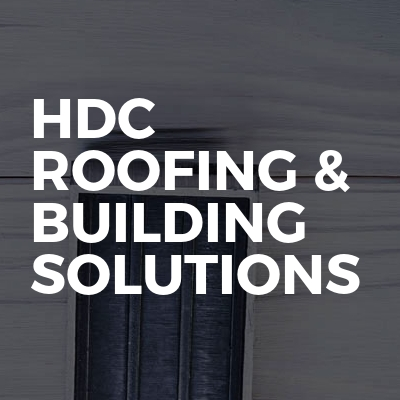 HDC Roofing & Building Solutions