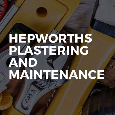 Hepworths Plastering And Maintenance