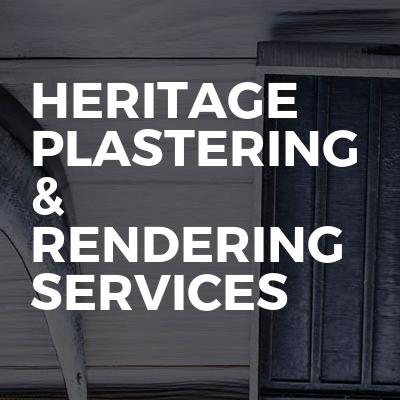 HERITAGE Plastering & Rendering Services