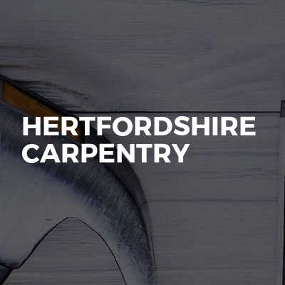 Hertfordshire carpentry