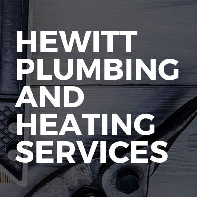 Hewitt plumbing and heating services