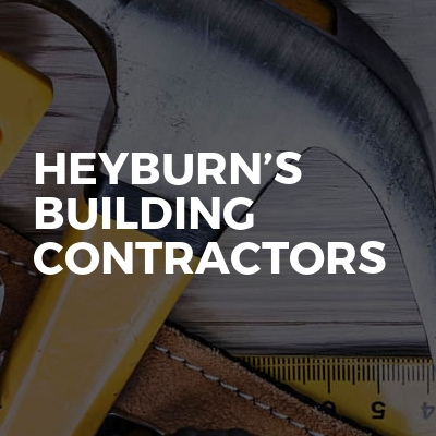Heyburn's building contractors