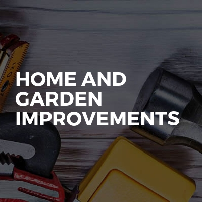 Home And Garden Improvements