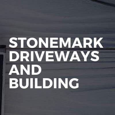 Stonemark driveways and building