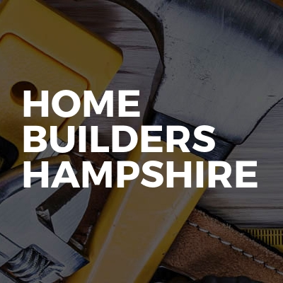 Home Builders Hampshire