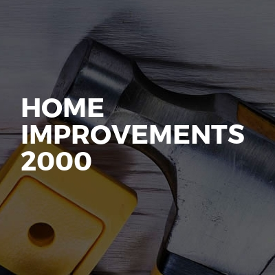 home improvements 2000