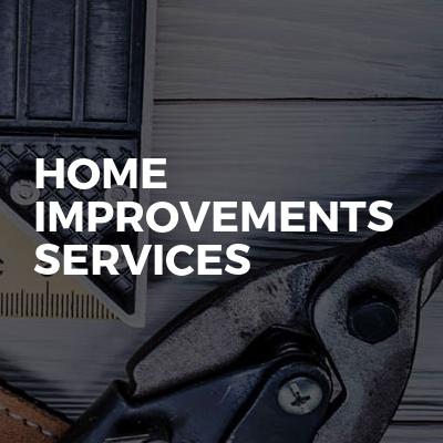 Home improvements services