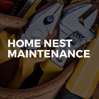 Home Nest Maintenance