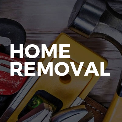 Home removal