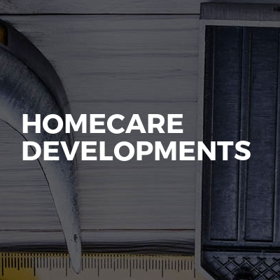 Homecare developments