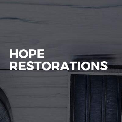 Hope Restorations