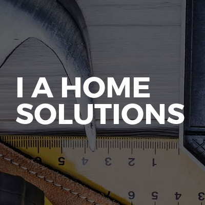 I A HOME SOLUTIONS