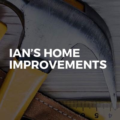 Ian's home improvements