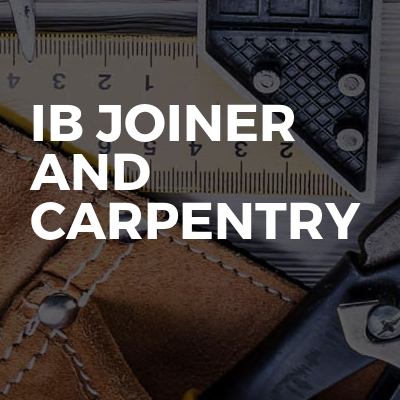 Ib Joiner And Carpentry