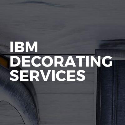 IBM decorating services