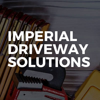 Imperial driveway solutions