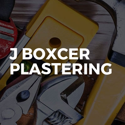 J Boxcer Plastering
