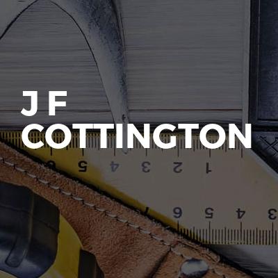 J F Cottington