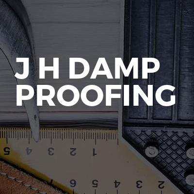 J H Damp Proofing