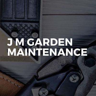 J M Garden Maintenance