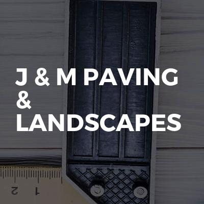 J & M Paving & Landscapes