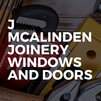 J Mcalinden joinery windows and doors