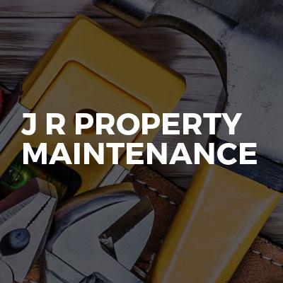 J R Property Maintenance