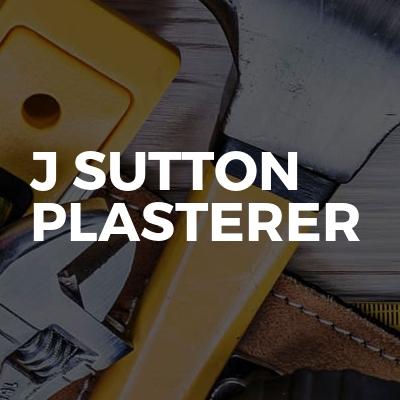 J Sutton Plasterer