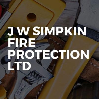 J W Simpkin Fire Protection Ltd