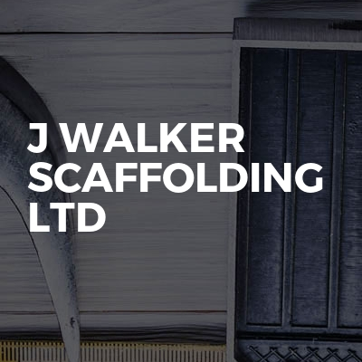 J Walker Scaffolding Ltd