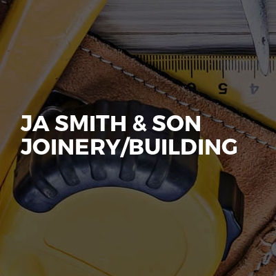 Ja smith & son joinery/building
