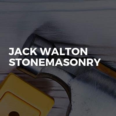 Jack Walton stonemasonry