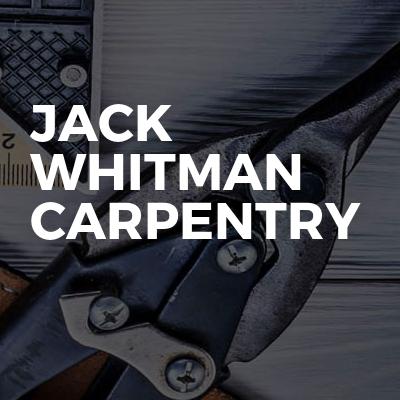 Jack Whitman Carpentry
