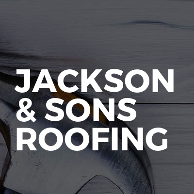 Jackson & Sons roofing