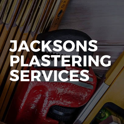 Jacksons plastering services