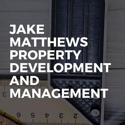 Jake Matthews Property Development And Management