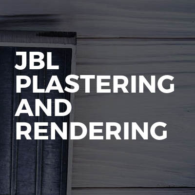 JBL Plastering And Rendering